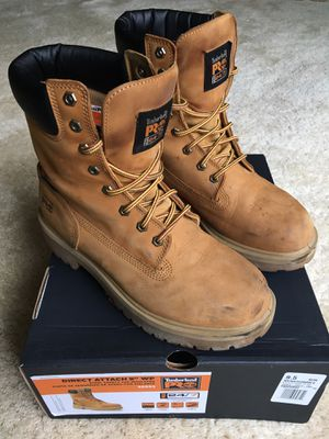 "Timberland Pros 8"" Wheat Work Boots for Sale in Strongsville, OH"