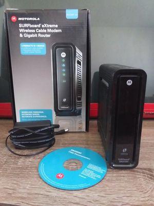 Motorola Docsis 3.0 Combo modem router SBG6580 for Sale in Las Vegas, NV