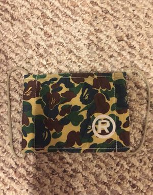 Bape Camo Face Mask for Sale in Houston, TX