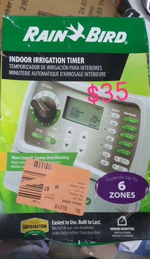 6 station rainbird indoor sprinkler timer for Sale in Bakersfield, CA