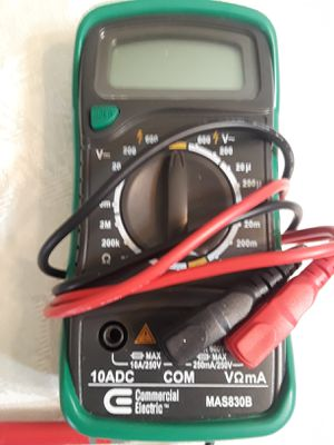 Commercial Electric Digital Multimeter for Sale in Houston, TX
