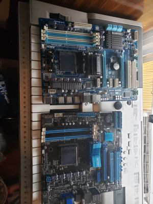 AM3+ Motherboards 100 for Both for Sale in Torrington, CT