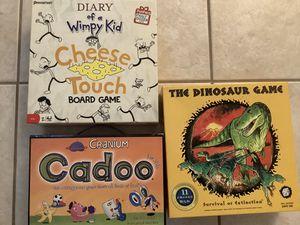 Kid board games for Sale in Casselberry, FL
