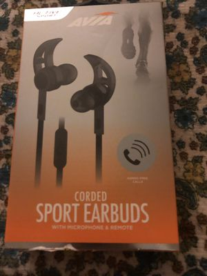 AVIA corded Sports Earbuds for Sale in Orlando, FL