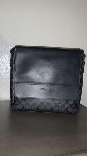 Coach messenger leather bag for Sale in El Mirage, AZ