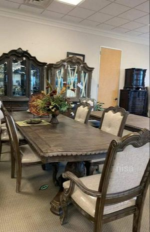 🍻$39 Down Payment 💥 Kiera Gray Formal Dining Set for Sale in Jessup, MD