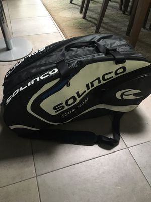 Like new 10 racket tennis bag for Sale in Modesto, CA