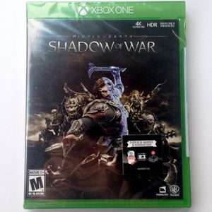 Shadow of War (Xbox One) BRAND NEW & SEALED for Sale in San Diego, CA