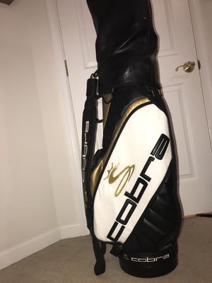 King cobra leather golf bag for Sale in Fairfax, VA