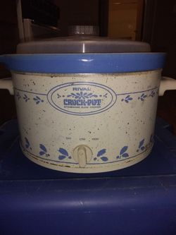 Rival crock pot stoneware slow cooker for Sale in Columbus,  OH