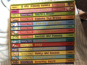 Box set like new ramona Quimby books for Sale in Gilbert, AZ