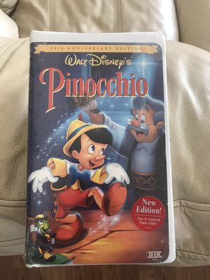 Disney's Pinocchio on VHS for Sale in Taylors, SC