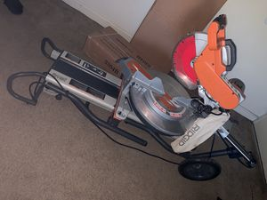 Ridgid skill saw with table for Sale in Chillum, MD