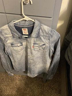 Stonewash Jean Shirt for Sale in Atlanta,  GA