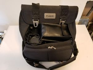 Canon Photo Kit EOS 630 SLR with 3 lenses and flash for Sale in Seattle, WA