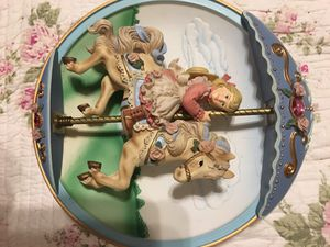 Bradford exchange 1994 Carousel musical like new condition for Sale in Oceanside, NY