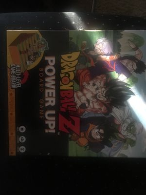 Dragon Ball Z power up board game for Sale in Charlotte, NC
