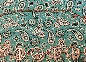 Vintage Woman's Silver Peace Sign Belt for Sale in Tucker, GA