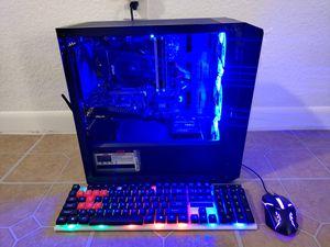 GAMING PC AMD RYZEN 5 3.2GHZ, 16GB RAM DDR4, 120GB SSD+1TB, ASROCK AMD RX 4GB, MSI BAZOOKA, WIFI & BLUETOOTH for Sale in Miami, FL