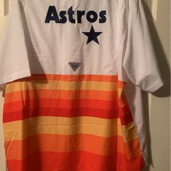 Astros PFG Throwback New Sizes XXL And XL (2) Left for Sale in Houston,  TX