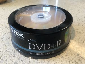 New DVD+R (25 Pack) UNOPENED for Sale in Rockville, MD
