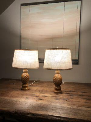 Vintage pineapple lamps 🍍 for Sale in Playa del Rey, CA