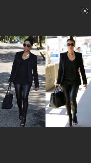 Express black leather leggings for Sale in Tampa, FL