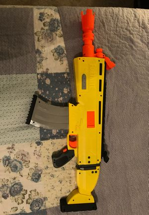 Scar nerf gun for Sale in Mooresville, NC