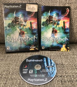 Summoner (Sony PlayStation 2, 2000) - PS2 - Complete Tested Working for Sale in Fresno, CA