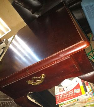 Wood End Table/Nightstand for Sale in Mesa, AZ