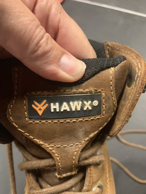 Hawx Men's enforcer work boots-nano composite toe for Sale in San Diego, CA