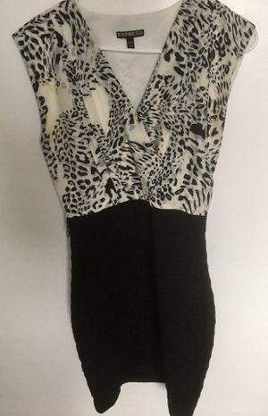 New Express V-Neck Animal Print Dress for Sale in Fremont, CA