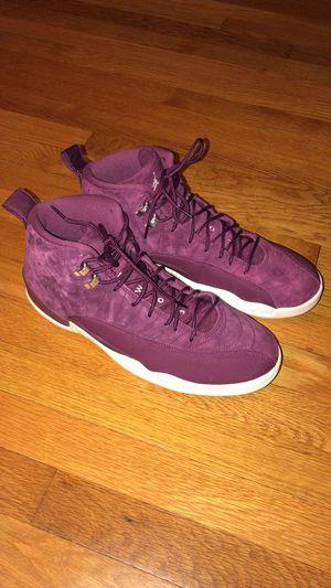 Retro suede jordan 12 purple size 13 for Sale in Richmond, VA