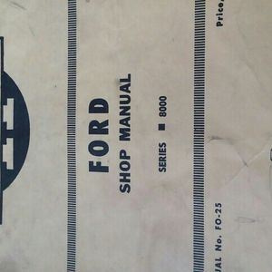 Ford Shop Manual Tractor for Sale in Valparaiso, IN