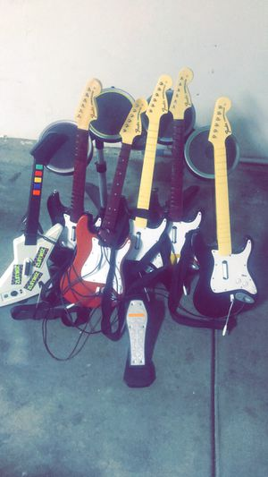 Drum set and guitars for Sale in Live Oak, CA