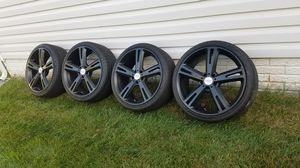 "Four 20"" American Racing wheels and tires for Sale in Baltimore, MD"