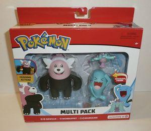 Pokemon Bewear Wobbuffet multi pack target exclusive for Sale in East Compton, CA