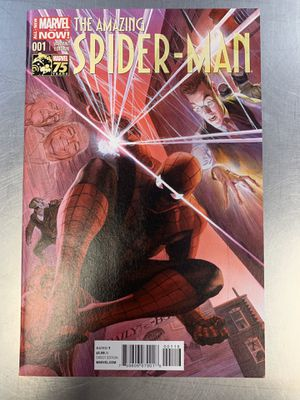 Amazing Spiderman 1 Alex Ross 1:75 variant for Sale in Tremont, IL