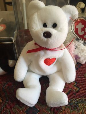 Ty beanie baby Valentino with pvc pellets for Sale in Apopka, FL