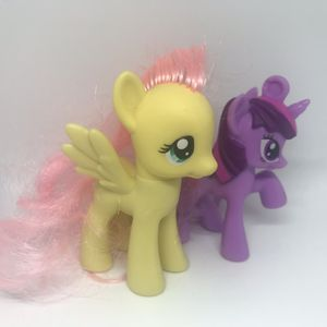 2 MY LITTLE PONY LOT VINTAGE FIGURE CUTIE MARK CREW G4 HASBRO GIRLS RAINBOW FRIENDSHIP WAVE MLP 3 TOYS MINI TOY SERIES for Sale in Houston, TX