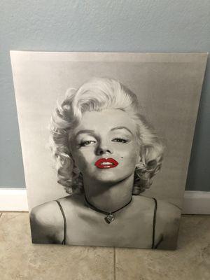 Marilyn Monroe poster board for Sale in Alameda, CA