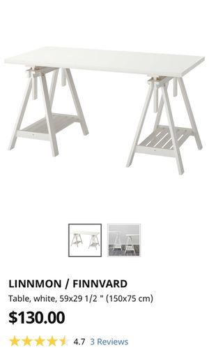 White adjustable desk for Sale in Los Angeles, CA