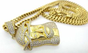 Mens Biker Gold Over Sterling Silver 925 Box Chain Jesus CZ Large Pendant #32268 for Sale in Lawrence, NY