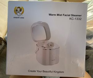 Warm mist facial steamer - Kingdom cares for Sale in Fresno, CA