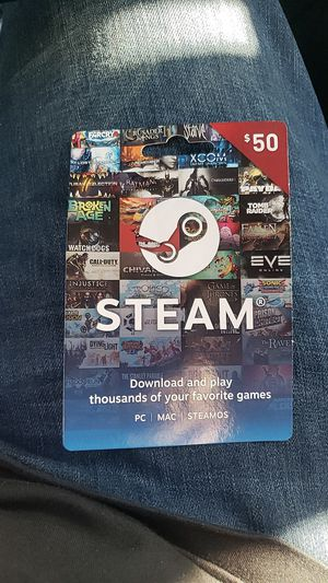 $50 steam card for Sale in San Jose, CA