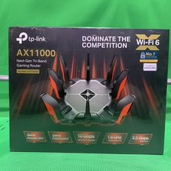 New TP-Link Archer AX11000 Tri-Band Wi-Fi 6 Gaming Router 2.4 5Ghz for Sale in Beverly Hills,  CA
