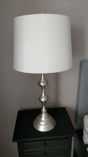Silver lamp for Sale in Philadelphia, PA