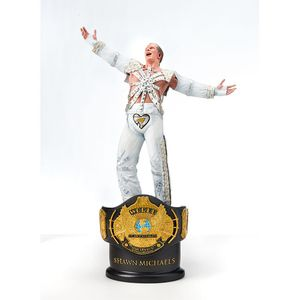 SHAWN MICHAELS CHAMPIONSHIP TITLE COLLECTION STATUE (Brand New in Perfect Condition) for Sale in Dallas, TX