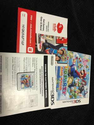 Mario Party Island Tour for 3DS for Sale in Las Vegas, NV