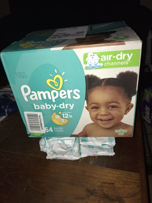 Diapers and wipes for Sale in Nashville, TN